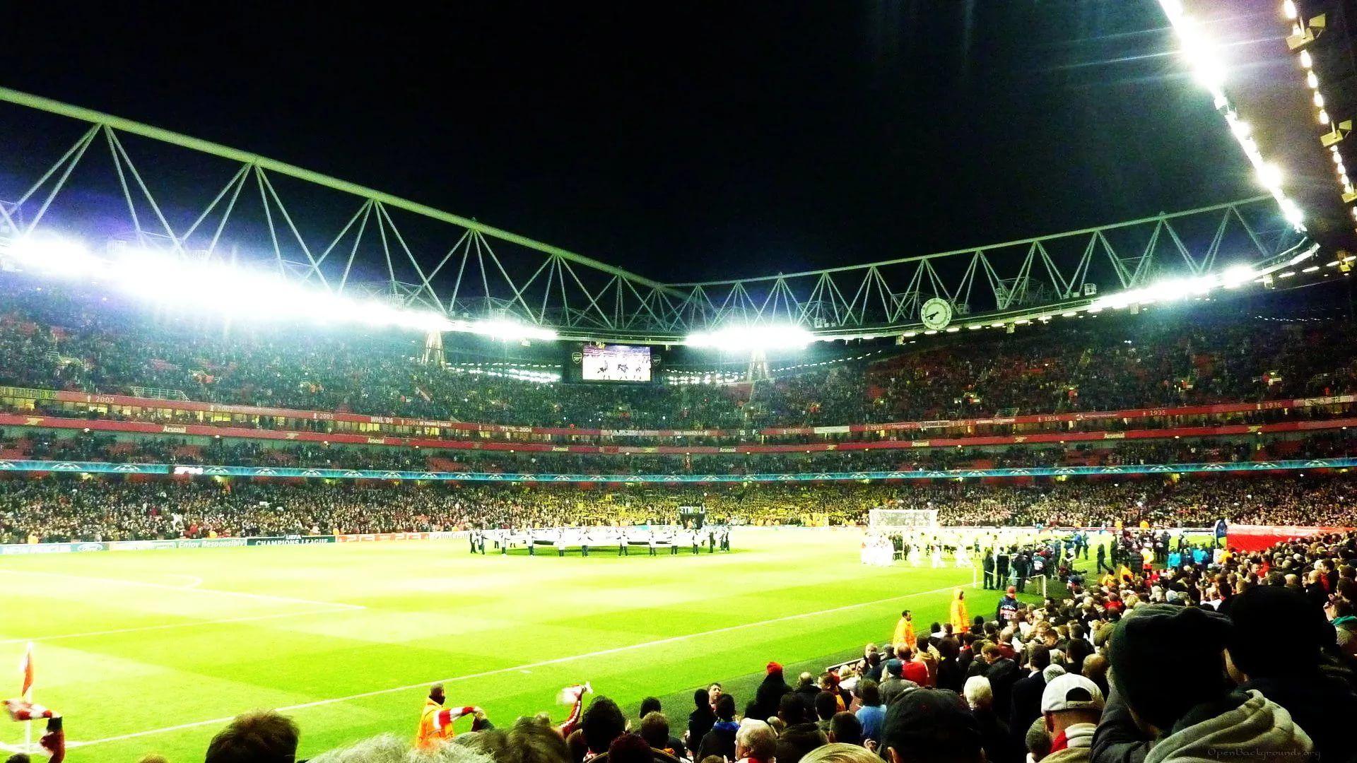 Emirates Stadium full wallpaper
