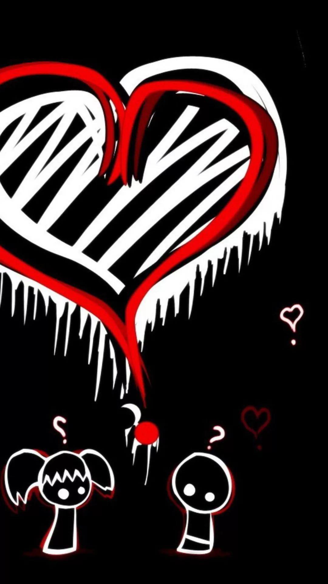 Emo Picture iOS wallpaper