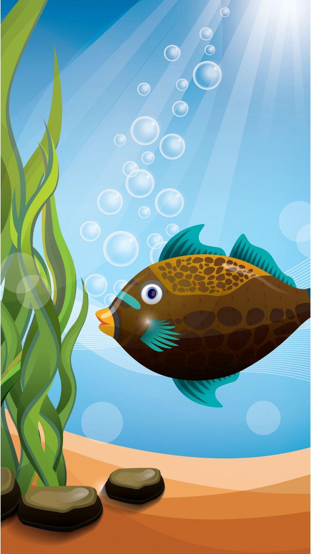 Fish Clean Nexus wallpaper