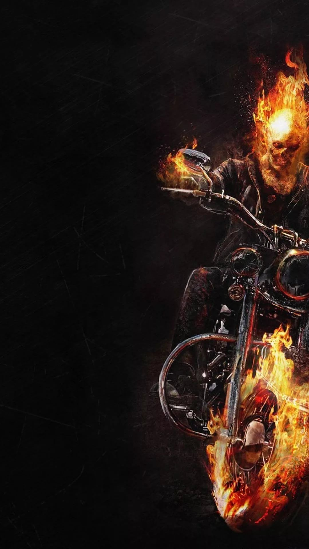 Ghost Rider iPhone x wallpaper hd