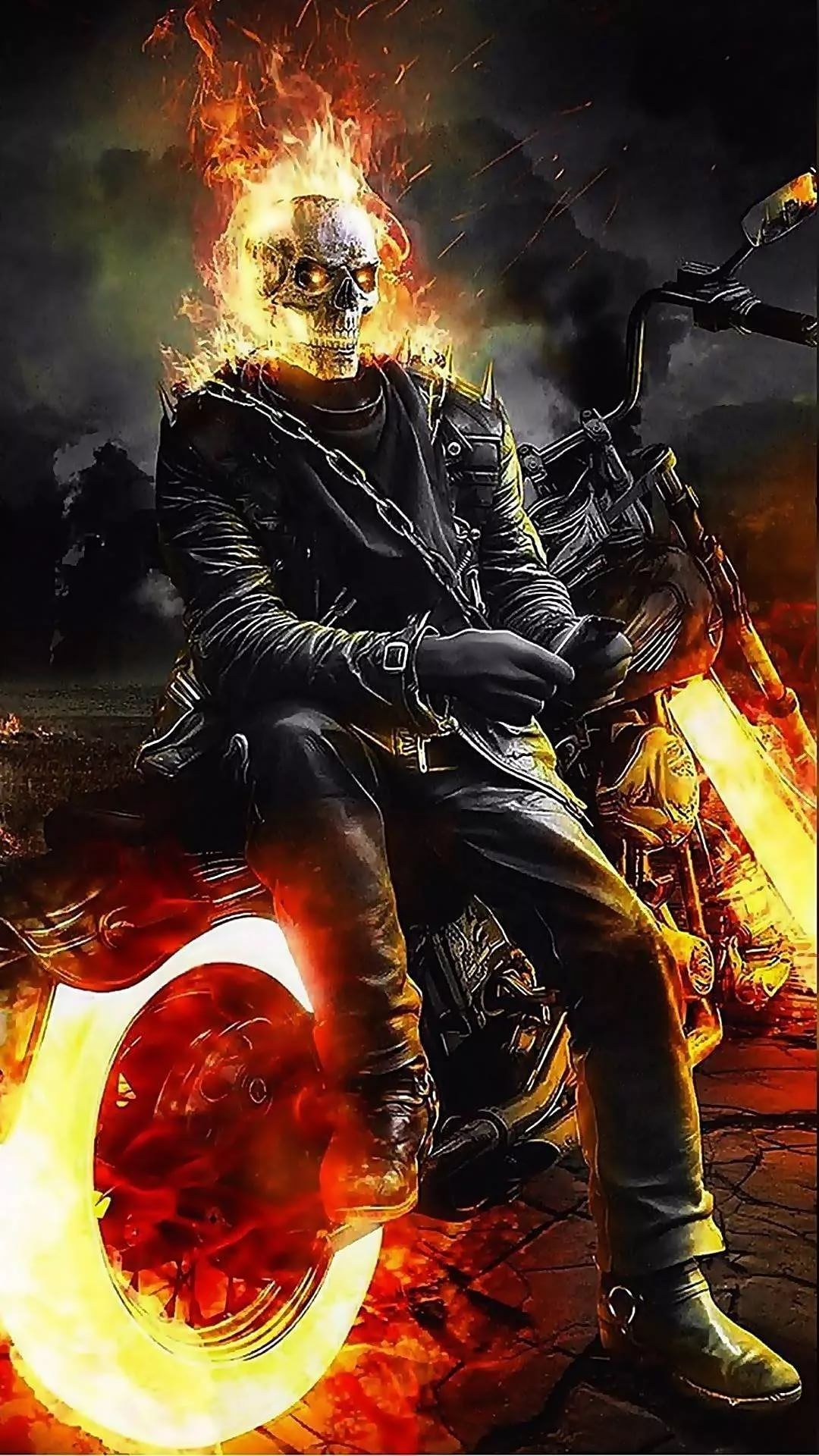 Ghost Rider iPhone Wallpaper HD