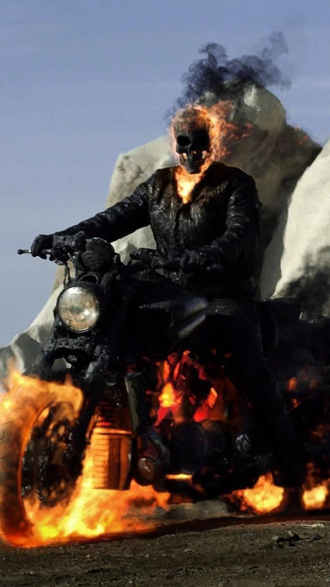 Ghost Rider Galaxy Wallpaper