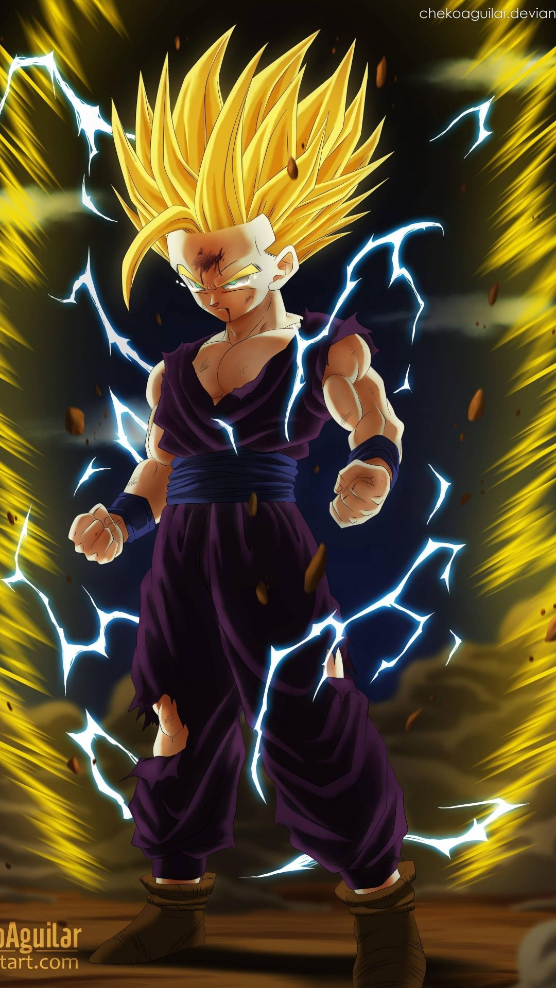 Gohan Apple wallpaper HD