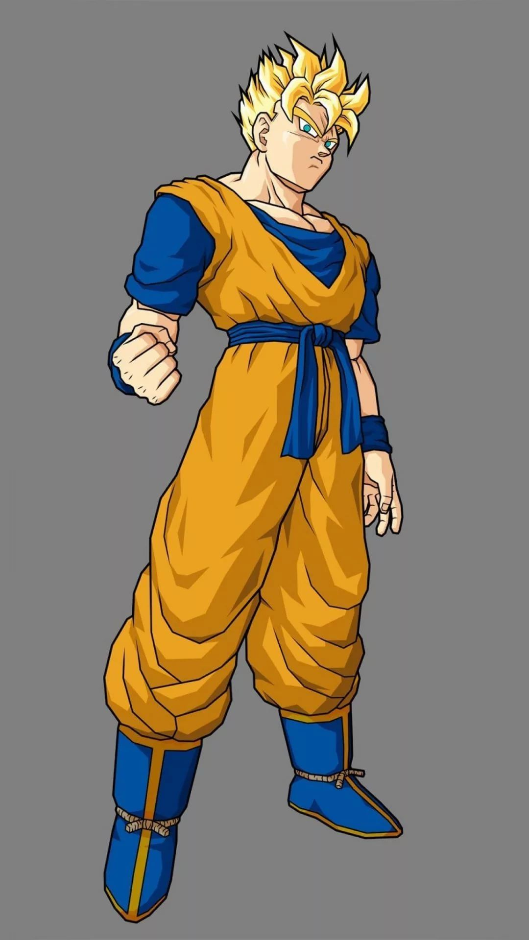 Gohan iPhone home screen wallpaper