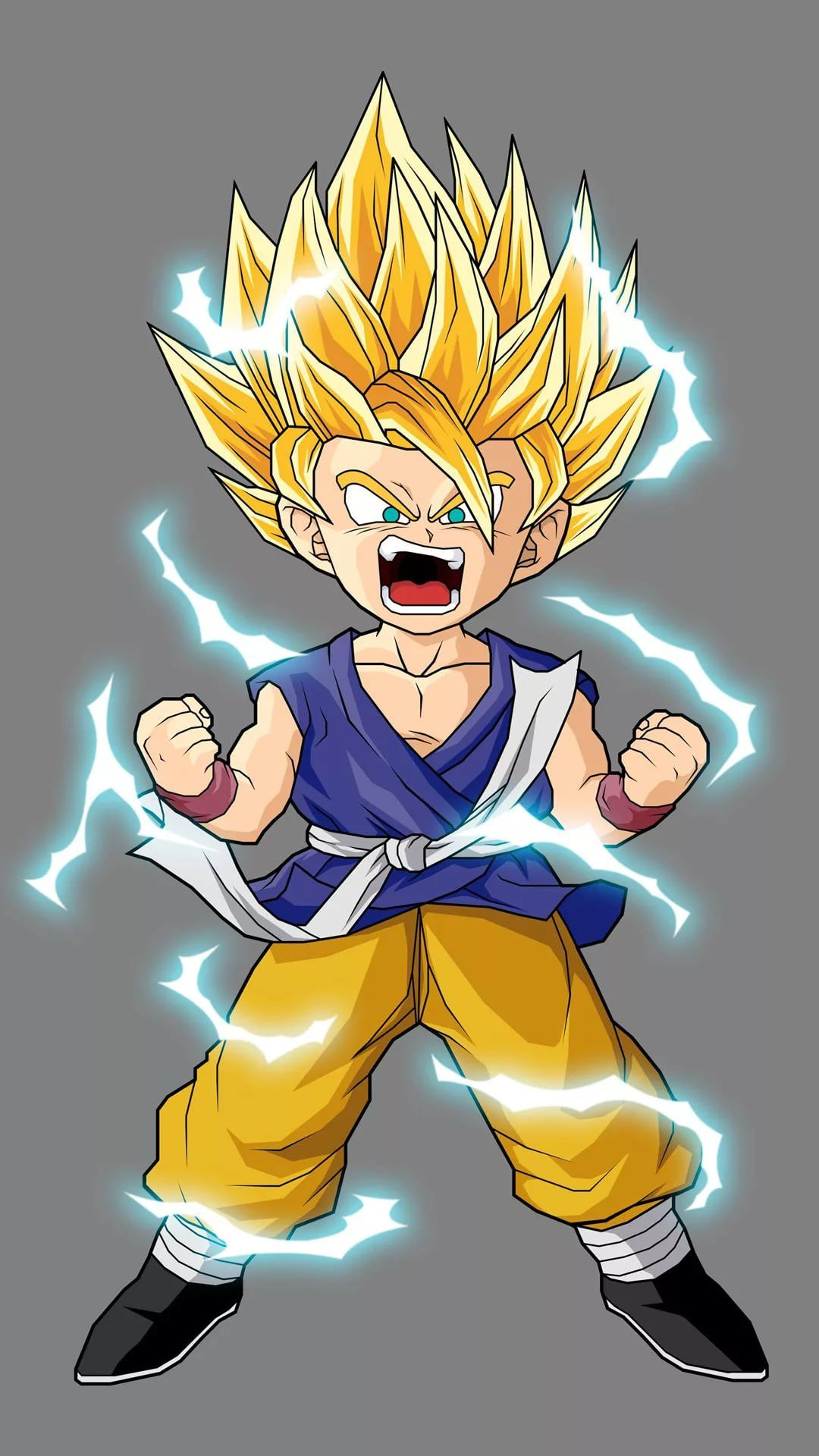 Gohan screen wallpaper