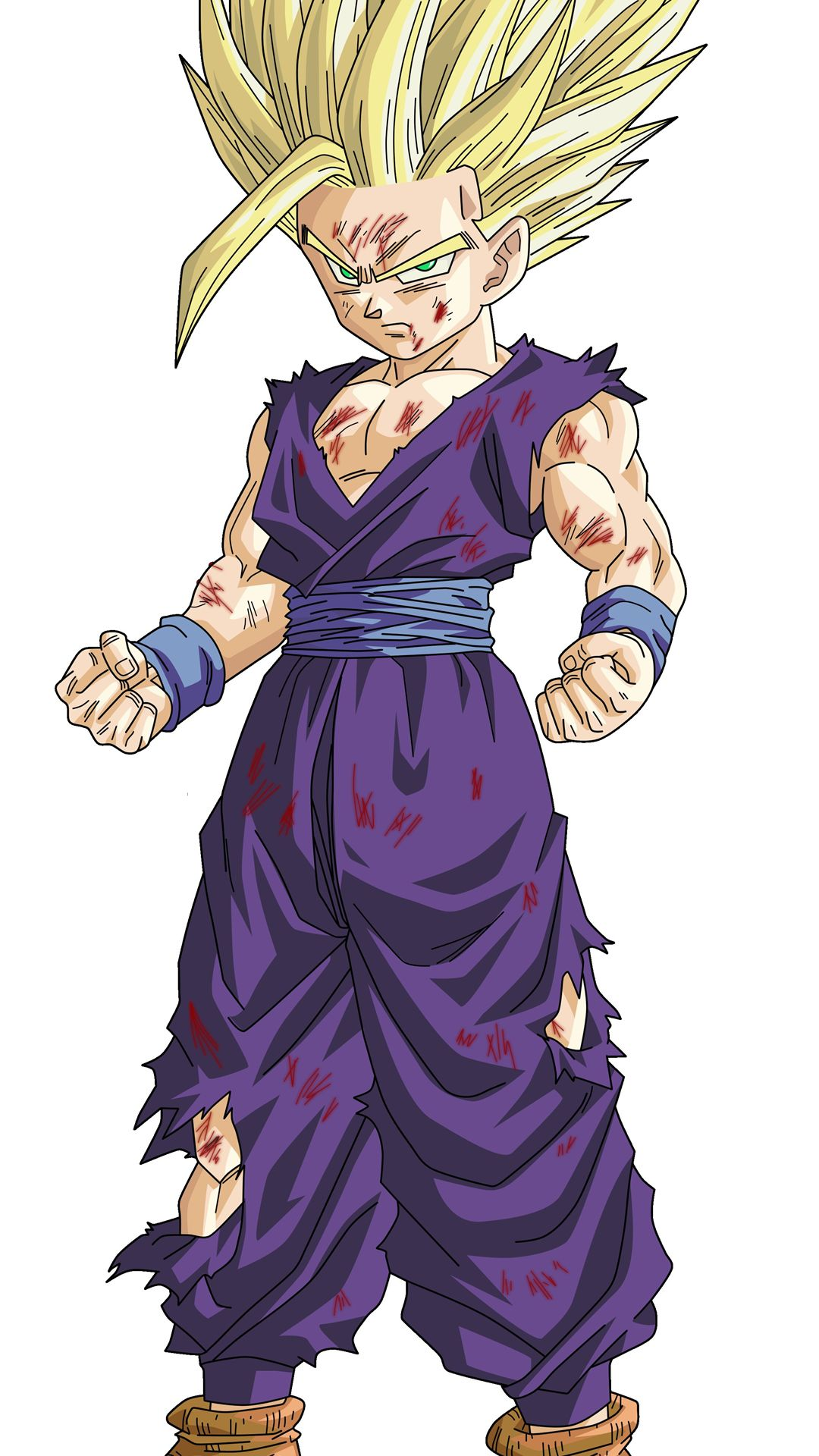 Gohan best iPhone wallpaper