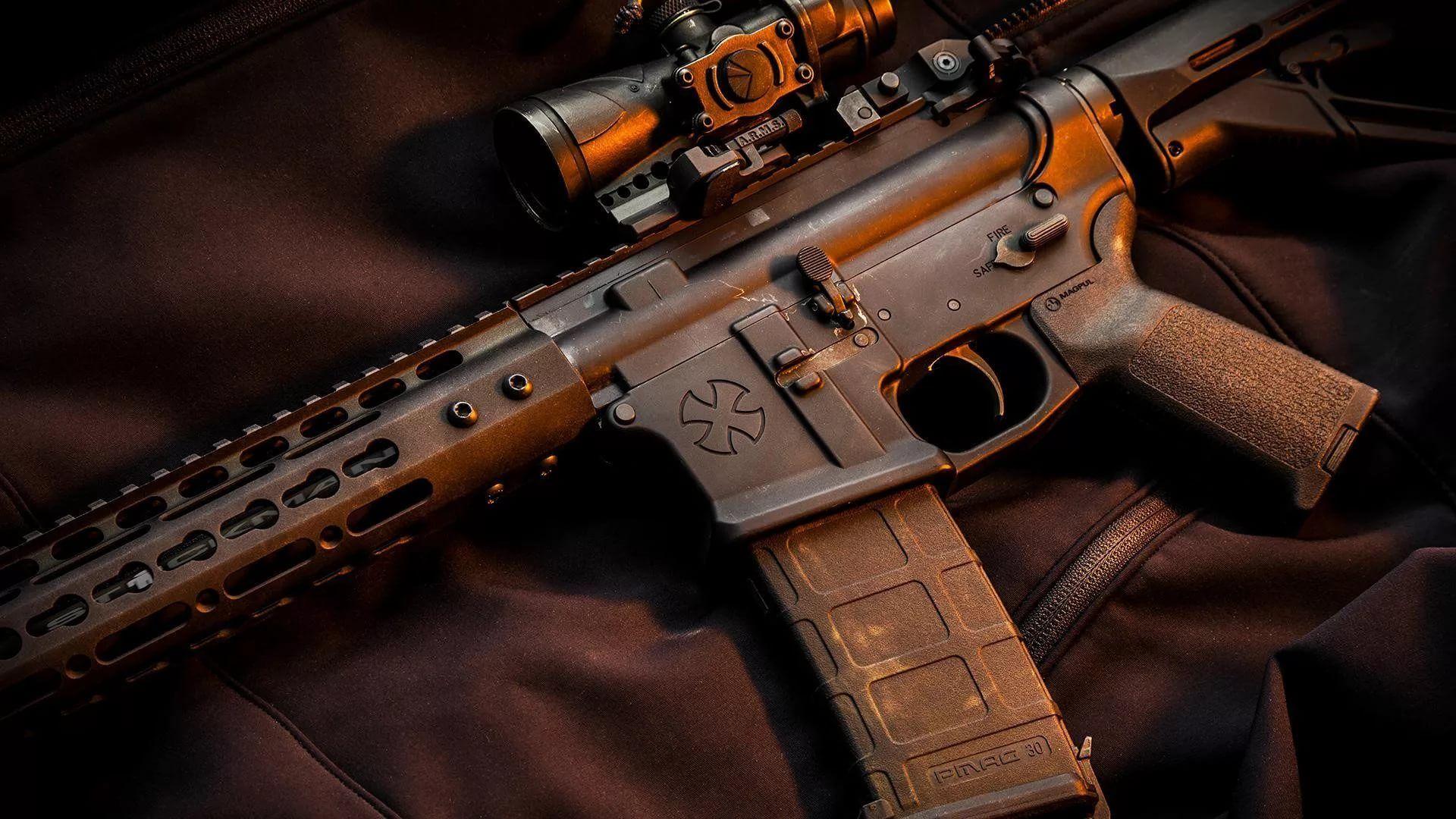 Gun For Desktop Wallpaper Picture