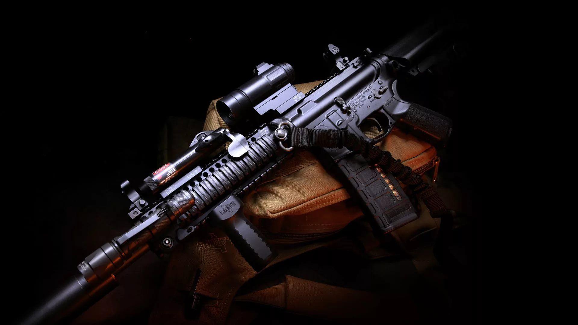Gun For Desktop Background Wallpaper HD
