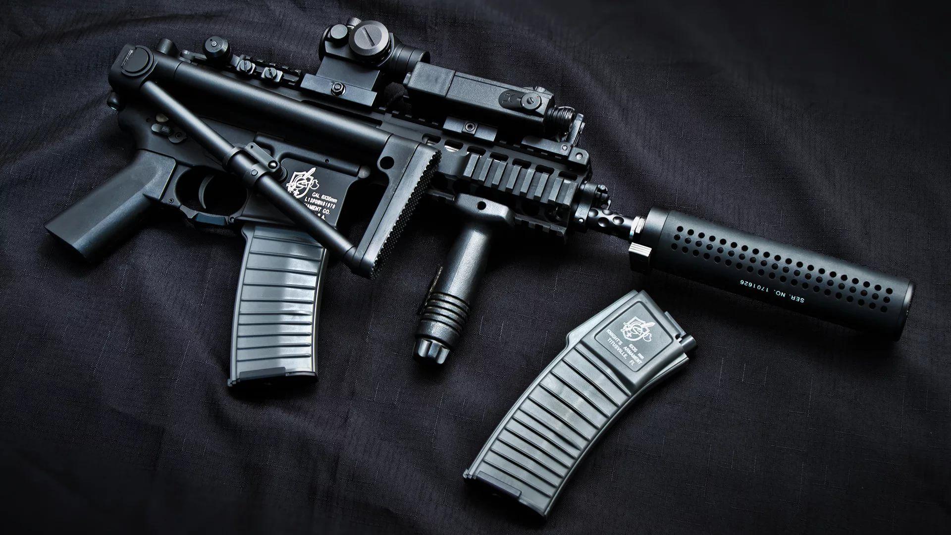 Gun For Desktop full wallpaper
