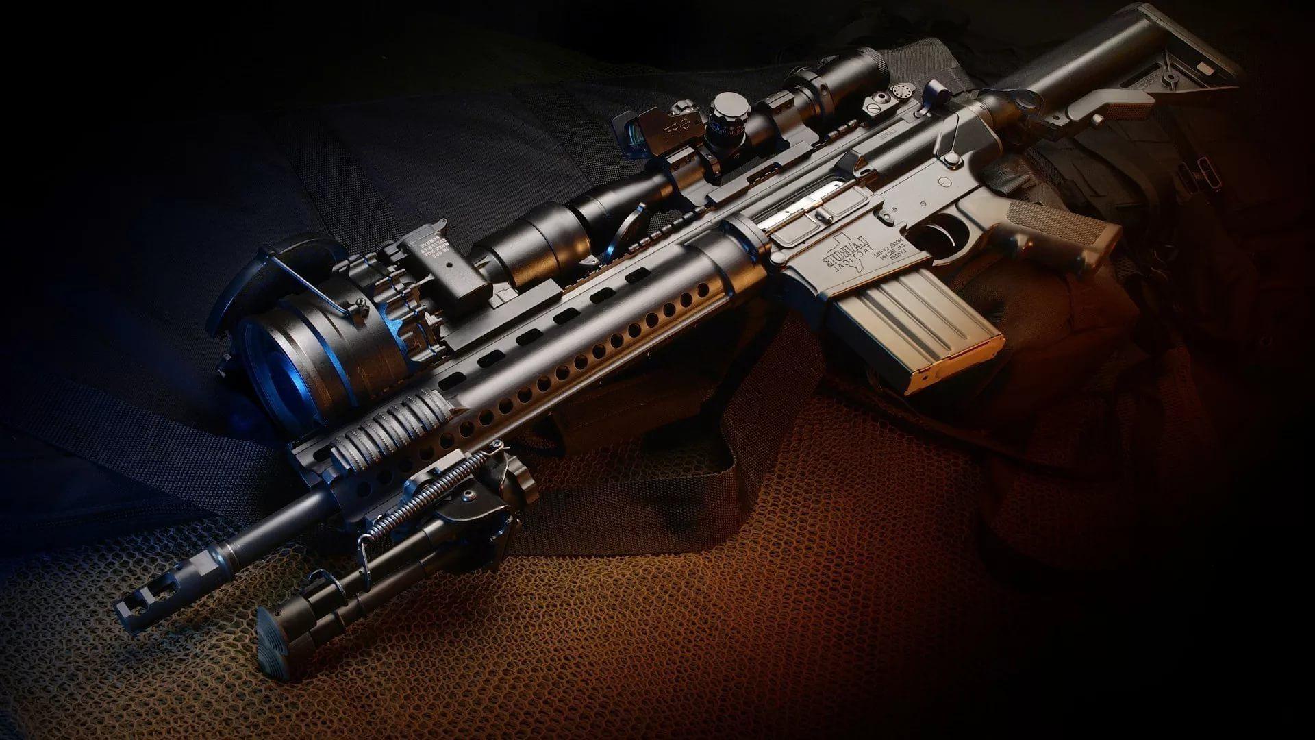 Gun For Desktop full hd wallpaper