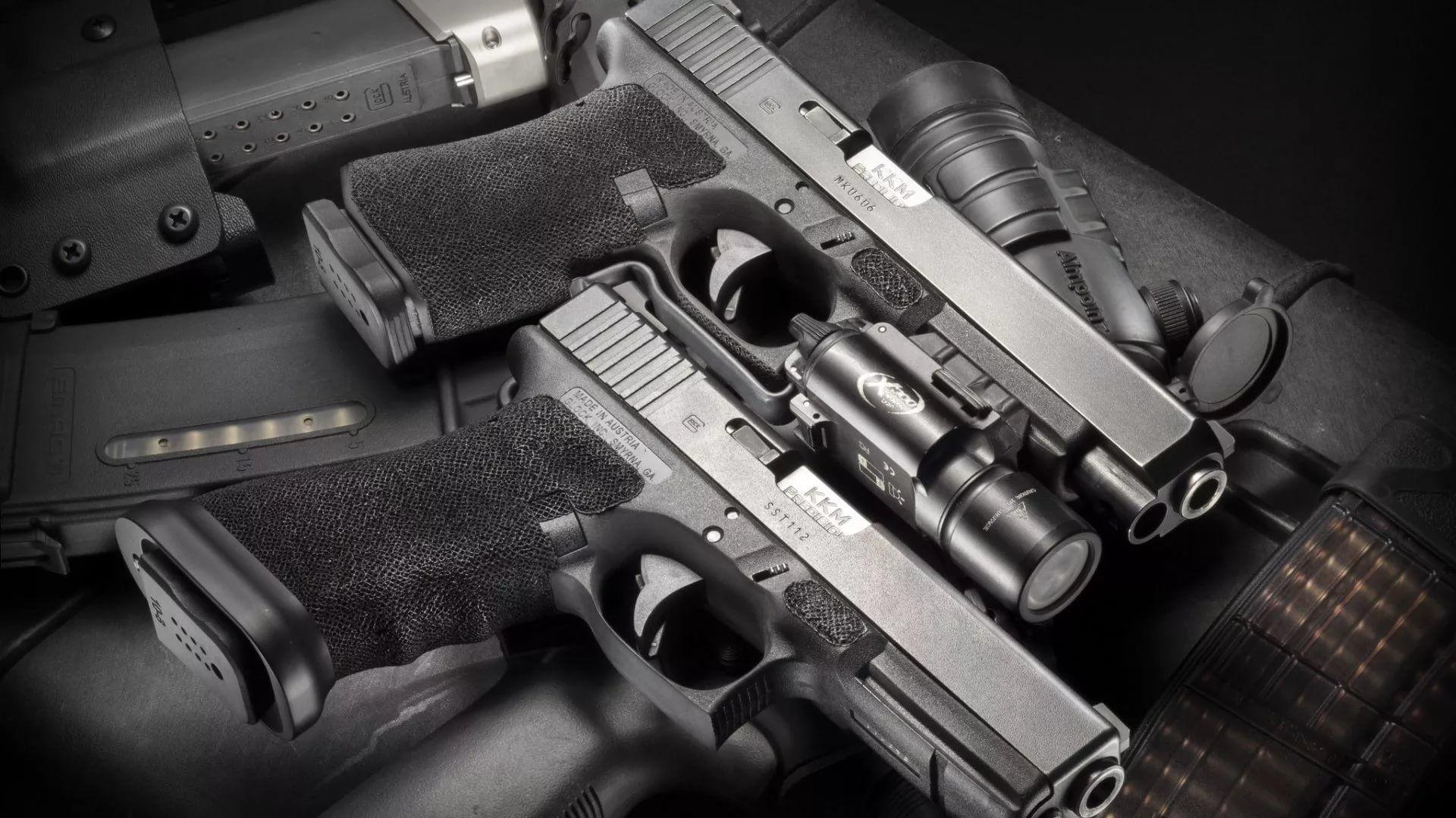Gun For Desktop background wallpaper