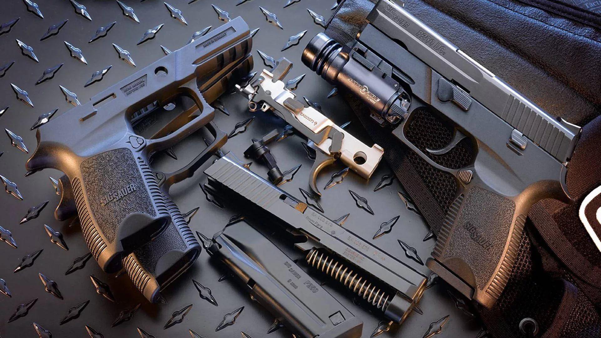 Gun For Desktop 1920x1080 wallpaper
