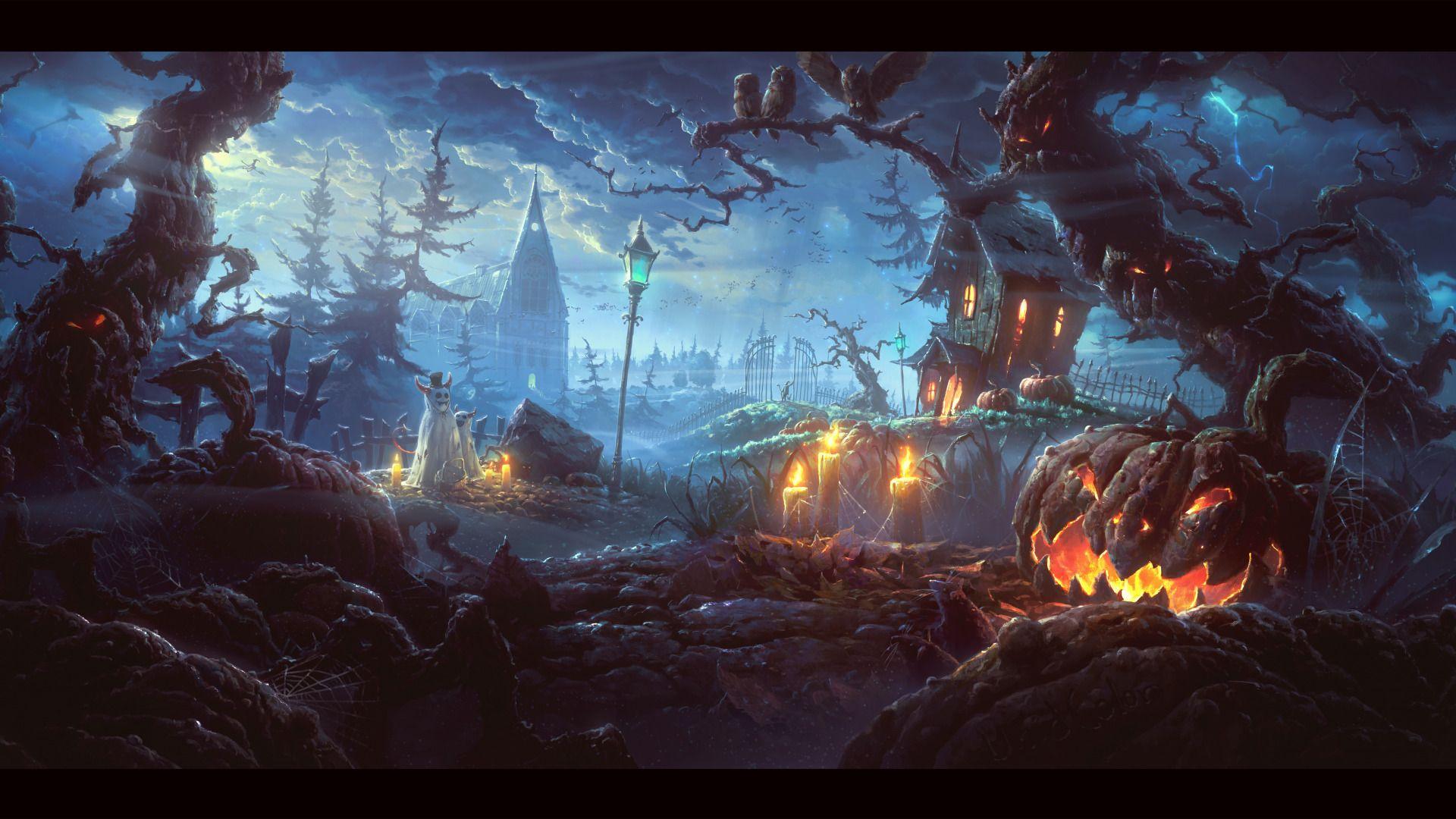 Halloween Landscapes, Halloween 2020 Image
