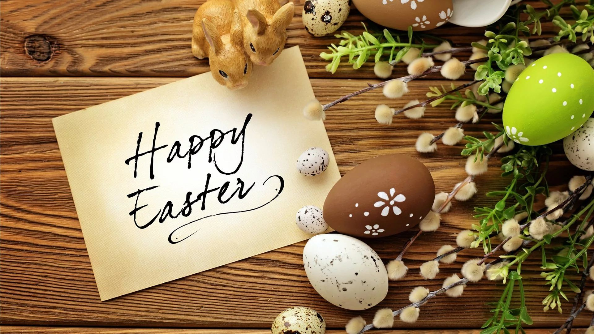 Happy Easter laptop wallpaper