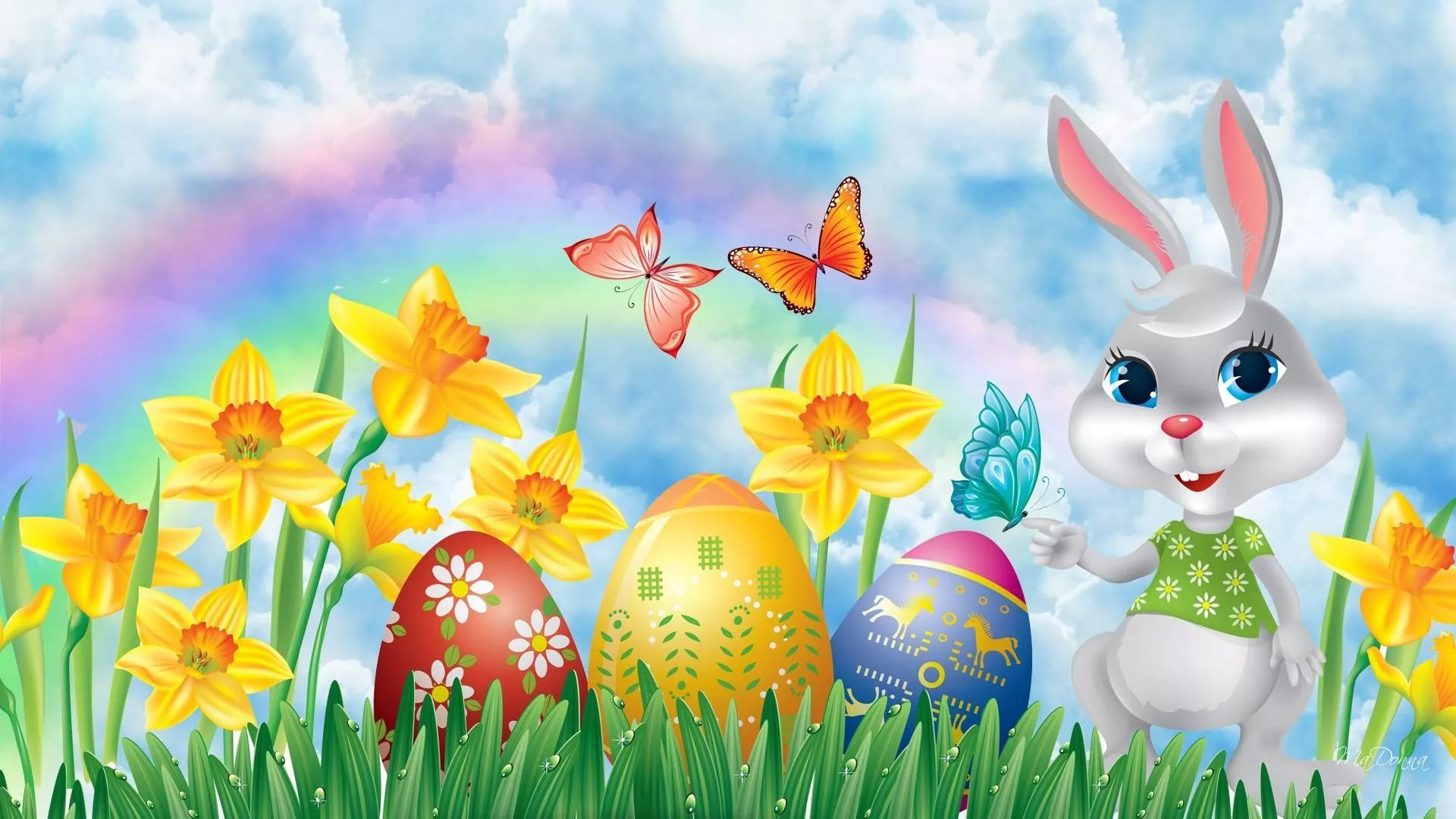 Happy Easter download wallpaper image