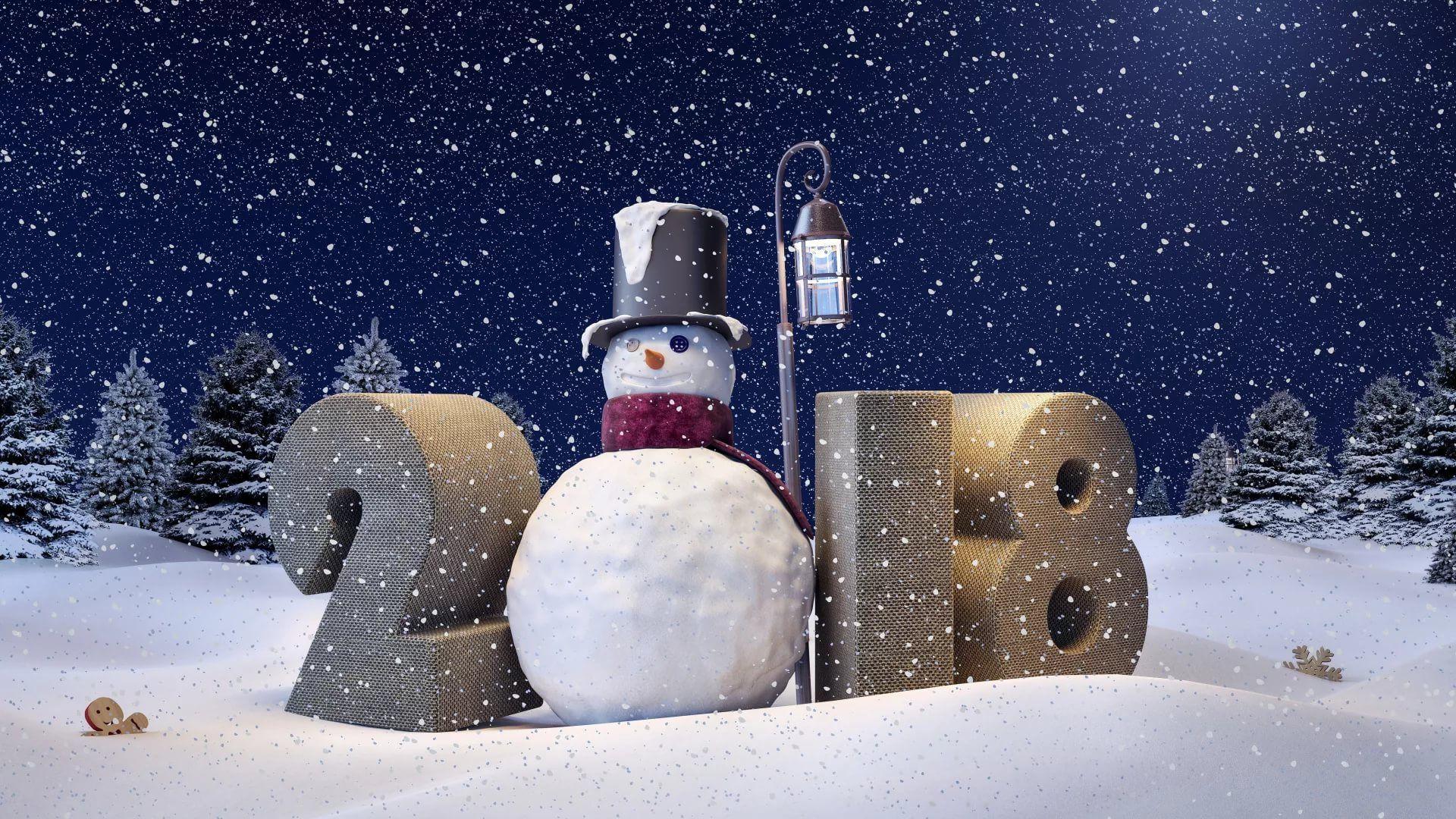 Happy Winter wallpaper download
