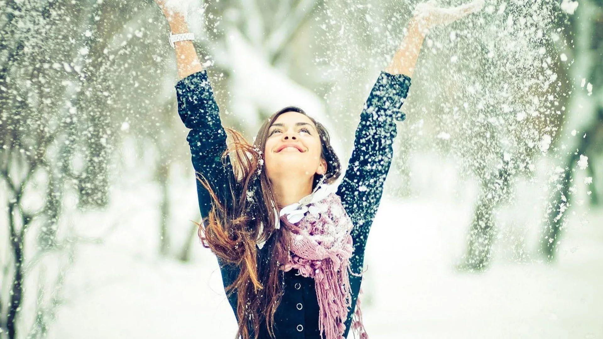 Happy Winter screen wallpaper