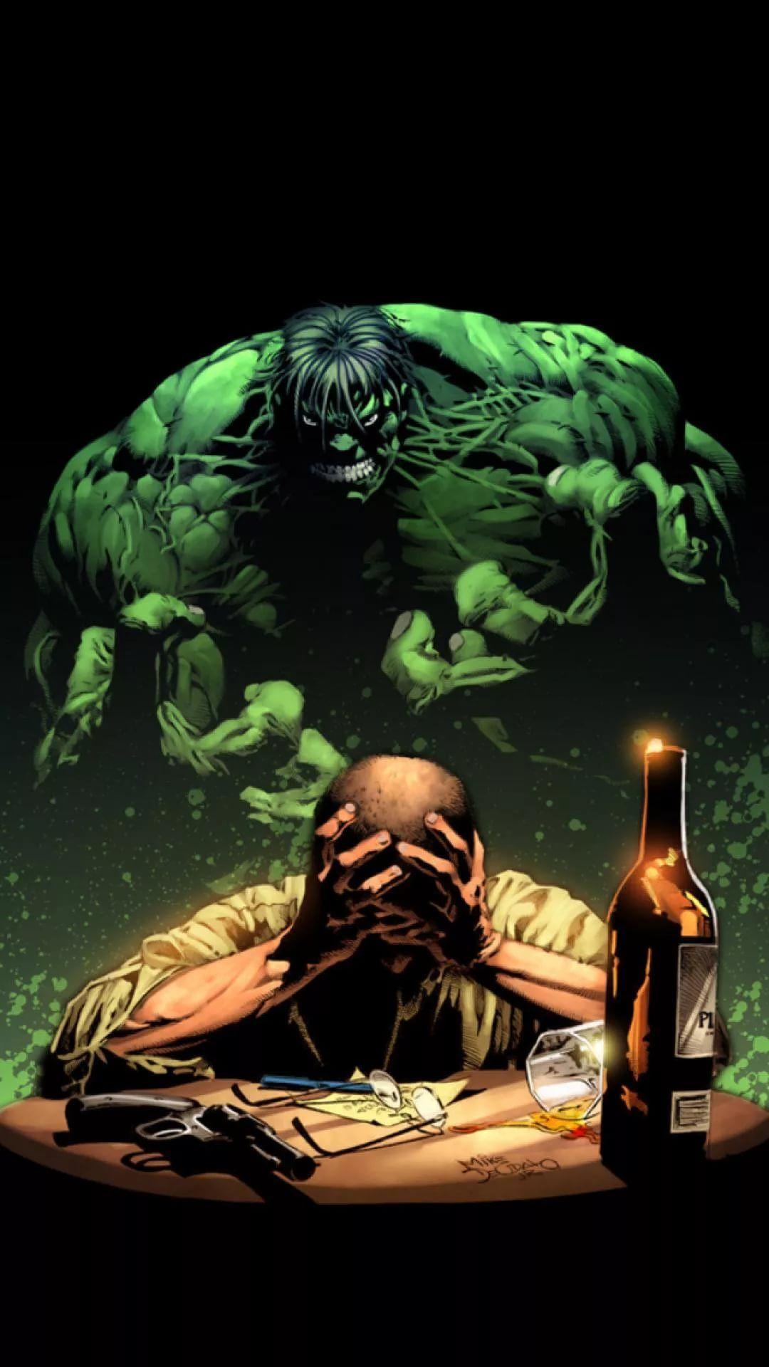 Hulk D iPhone 6 Wallpaper