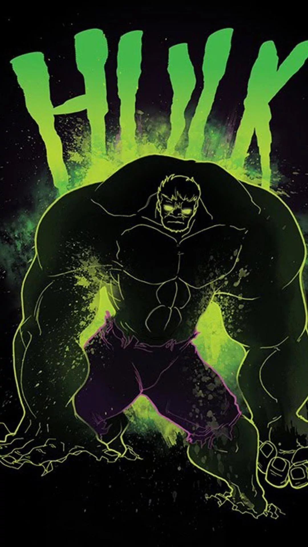 Hulk D iPhone 5 wallpaper
