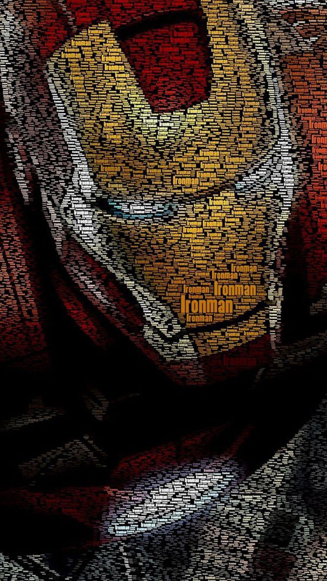 Iron Man D iPhone xr wallpaper