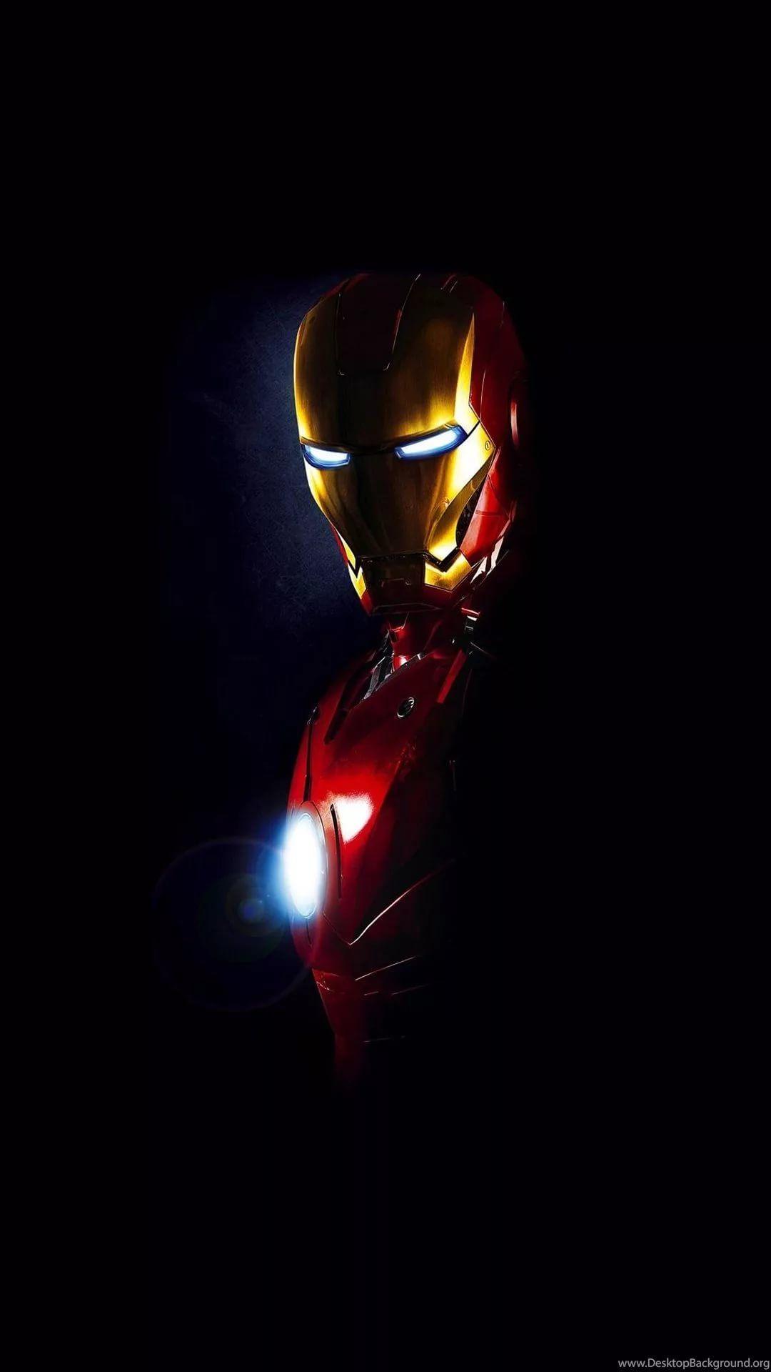 Iron Man D background wallpaper
