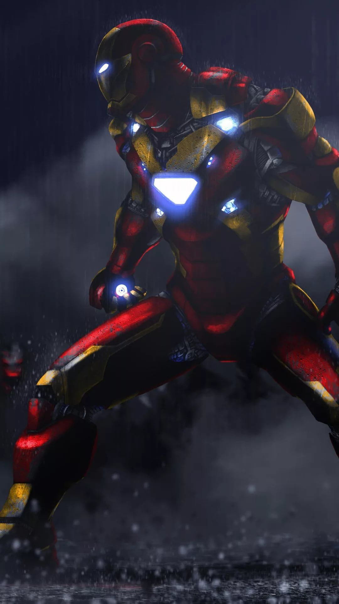 Iron Man D iPhone x wallpaper