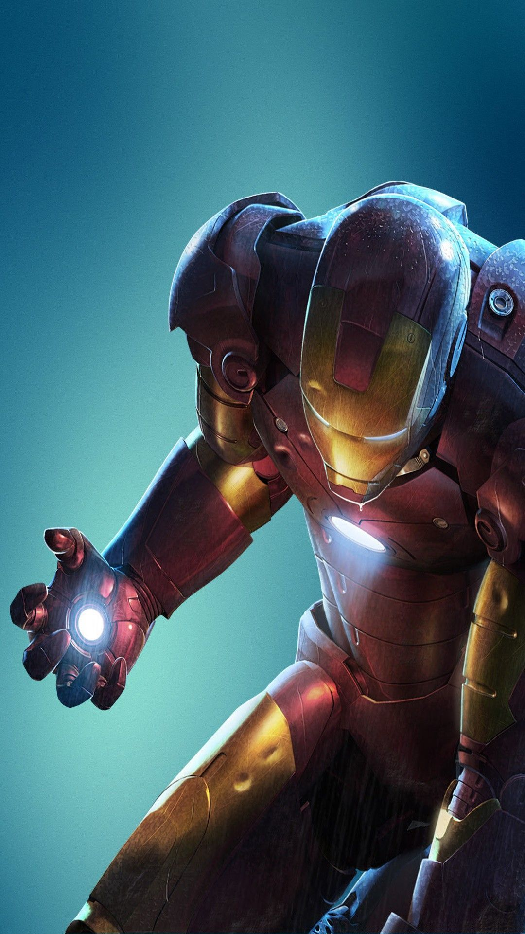 Iron Man D iOS 11 wallpaper