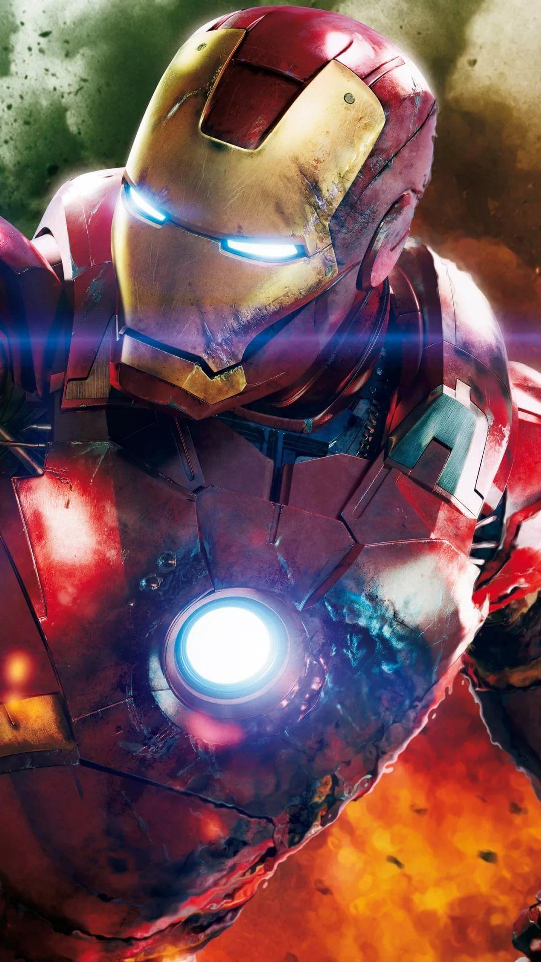 Iron Man D iPhone Wallpaper HD