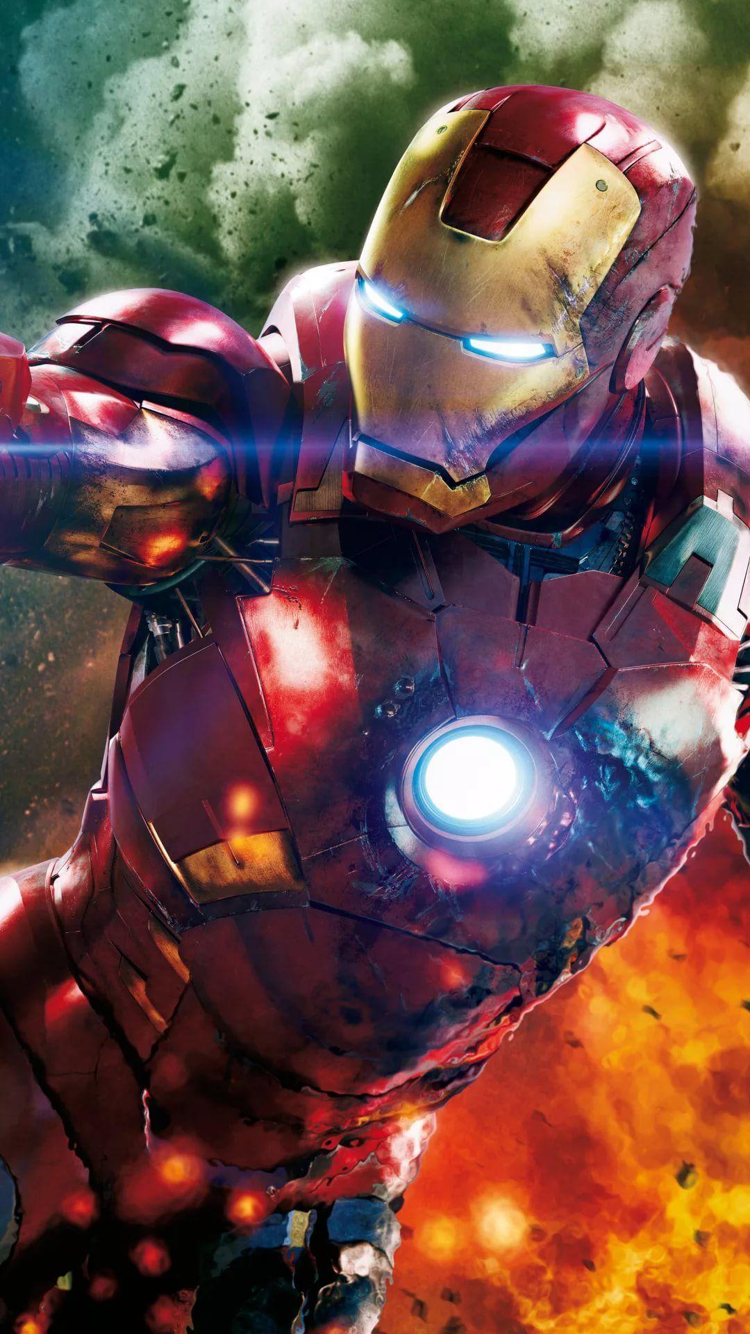 Iron Man D iPhone wallpaper high quality
