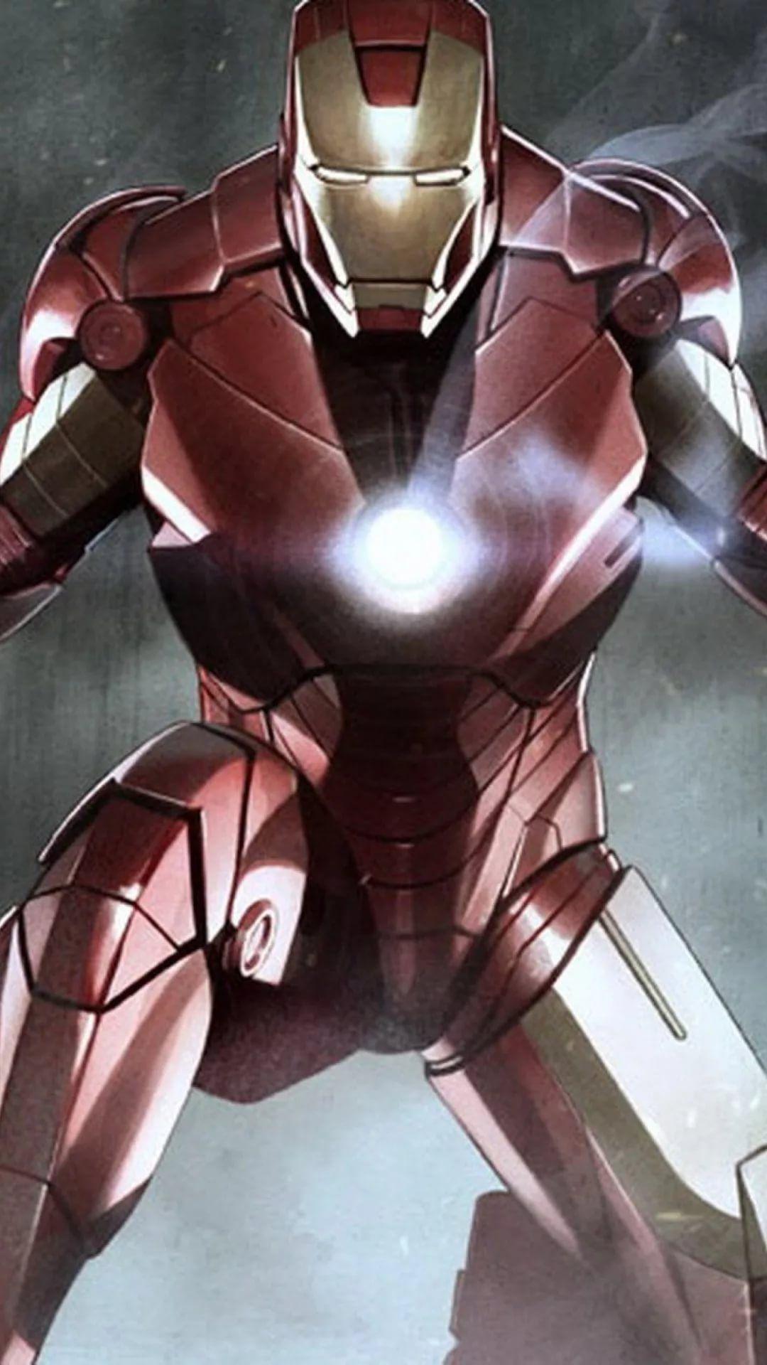 Iron Man D iPhone xs wallpaper