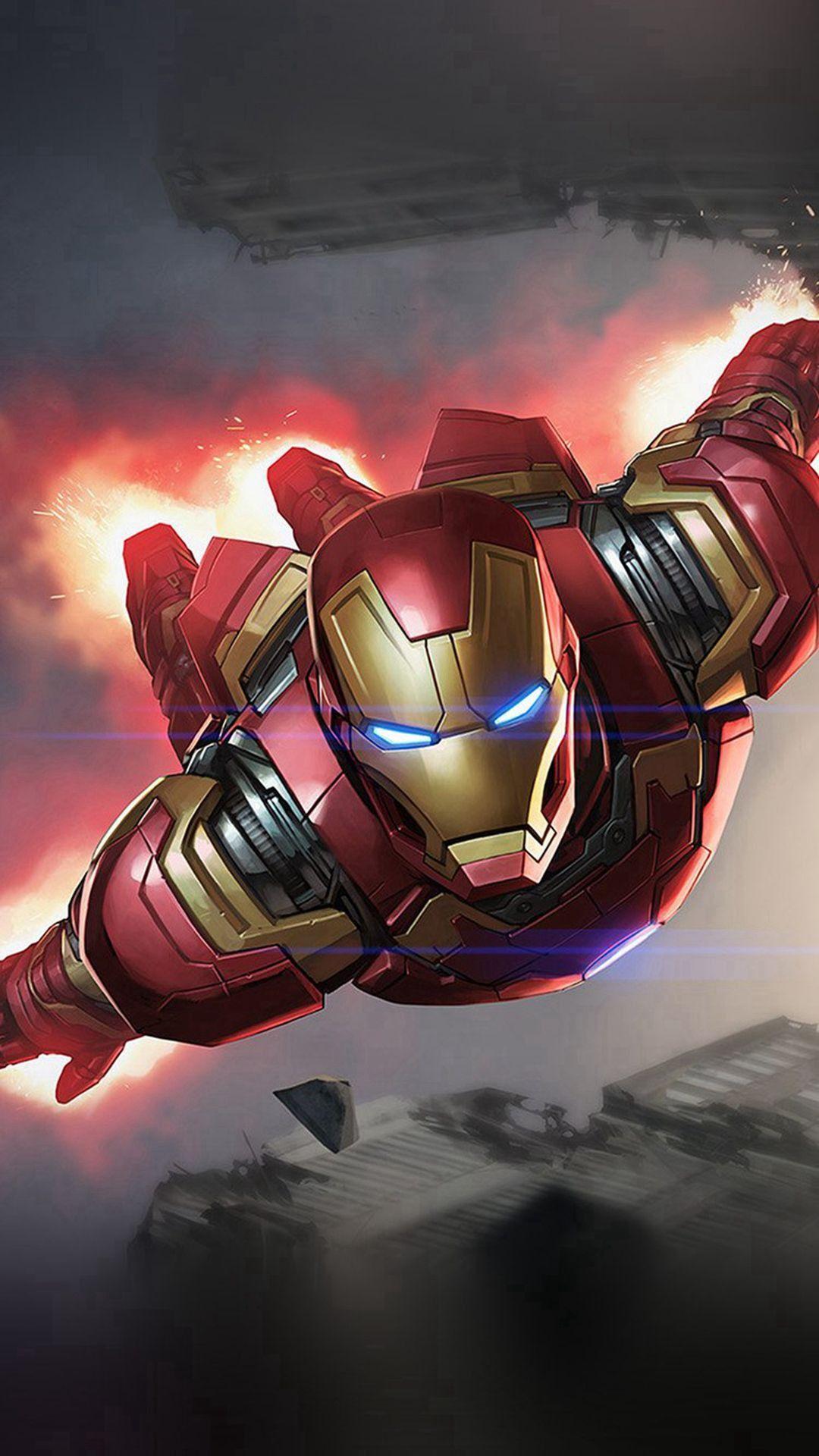 Iron Man D iPhone 6 Wallpaper