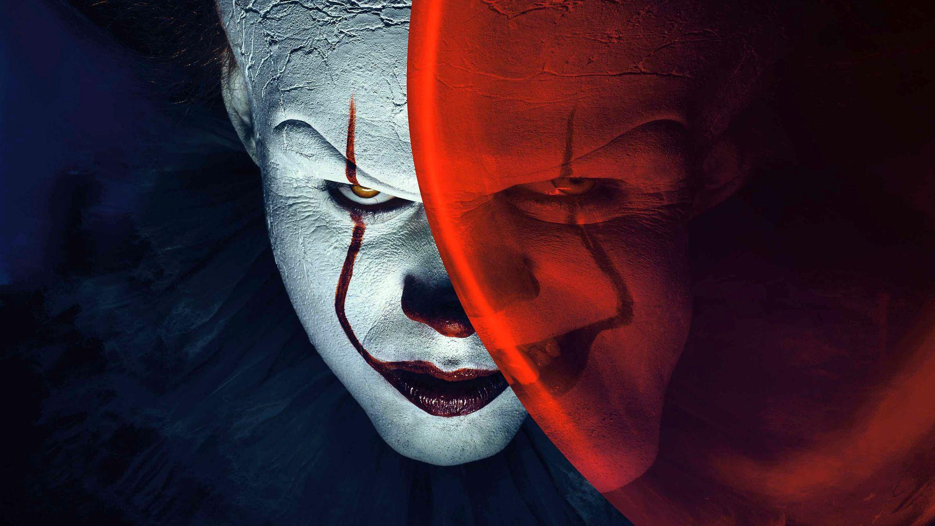 It's 2, Clown Poster PC Wallpaper HD