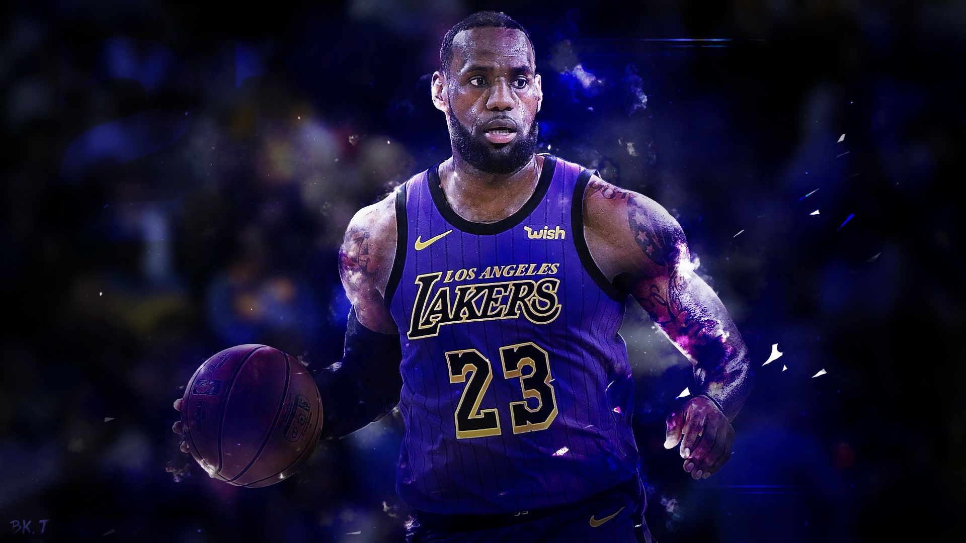 Lebron James Wallpapers - WallpaperBoat