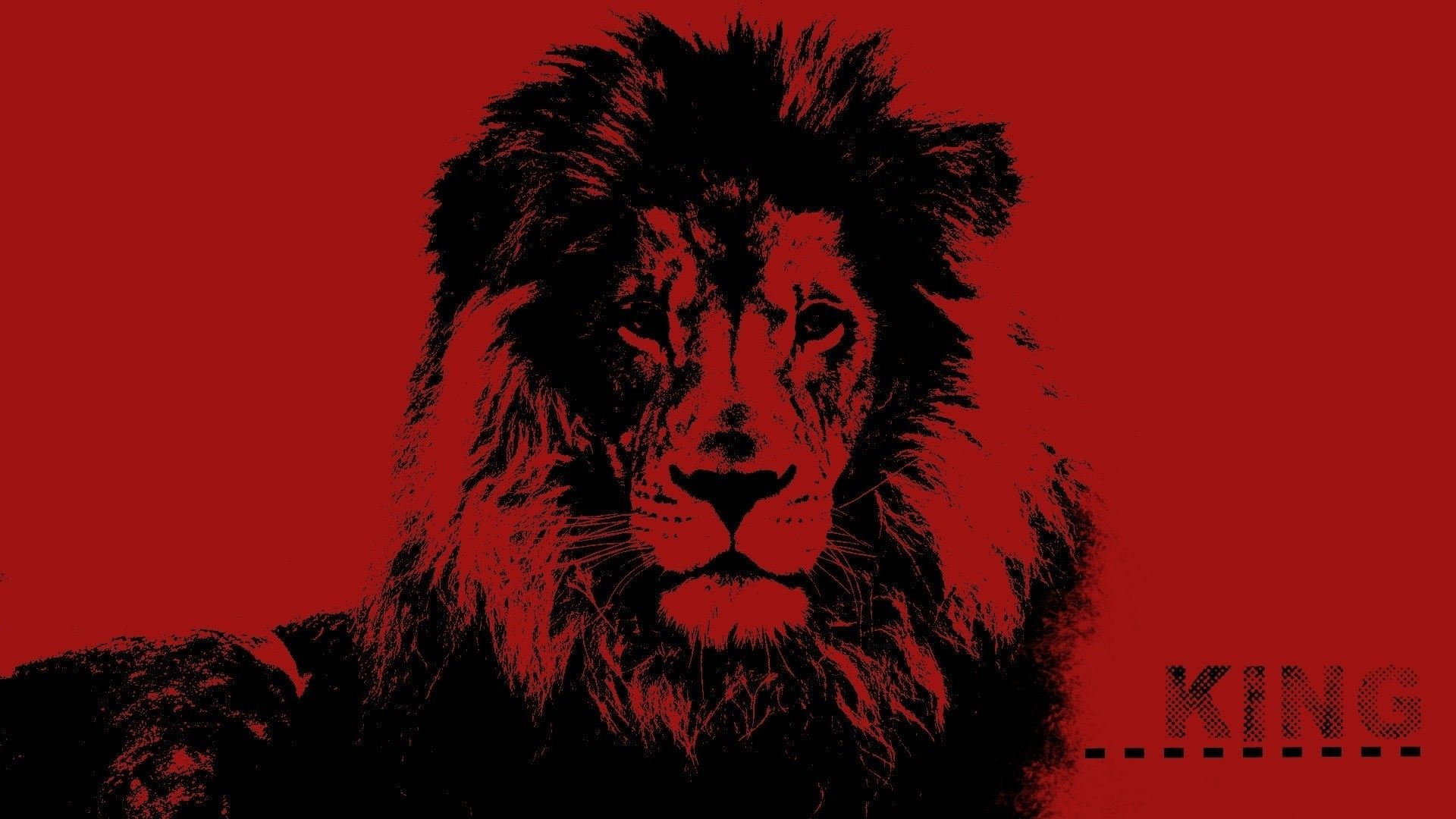 Lion Art background wallpaper