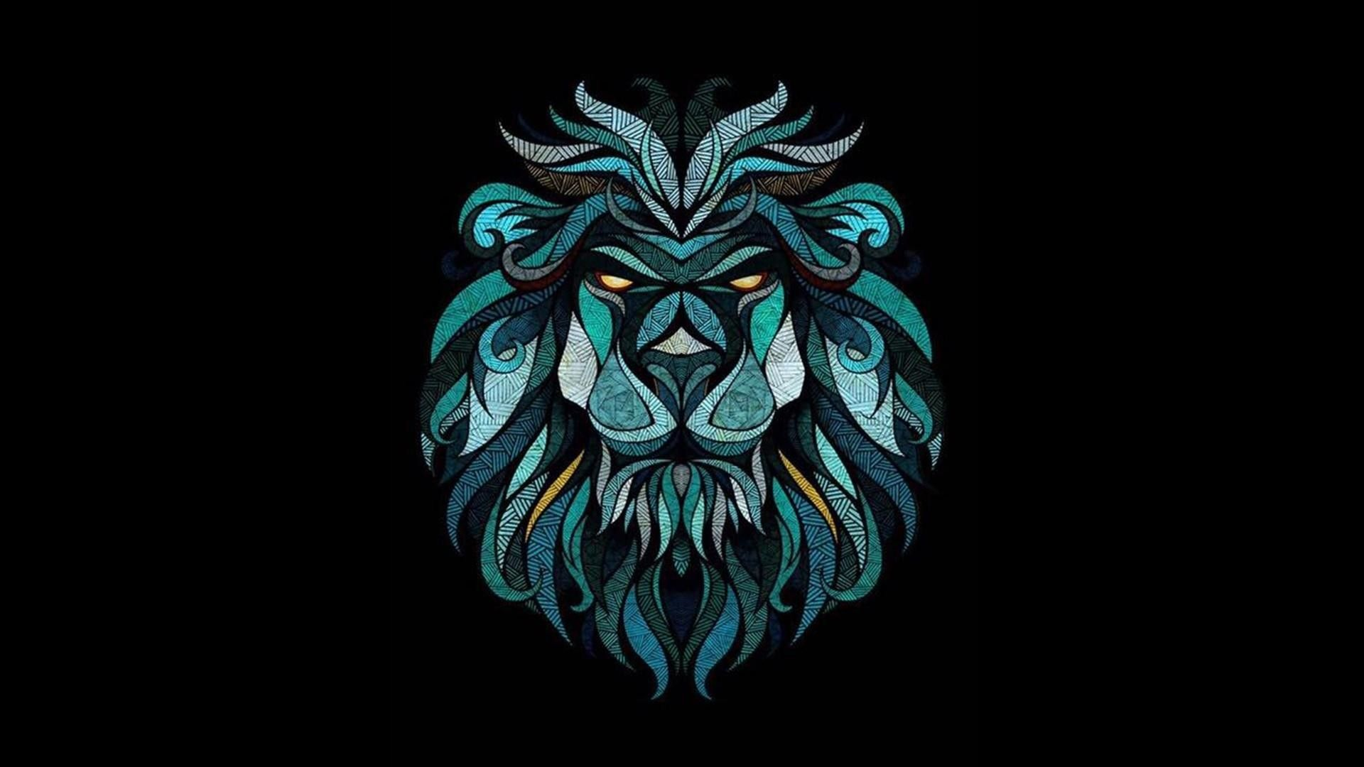 Lion Art wallpaper image