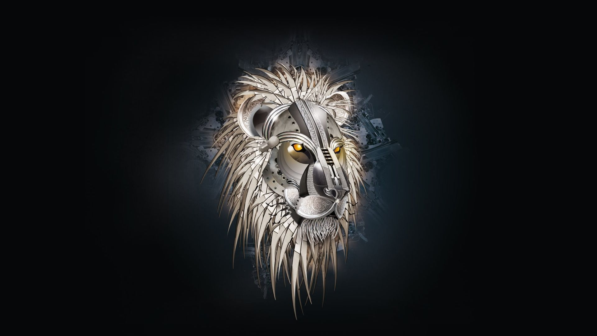 Lion Art wallpaper download