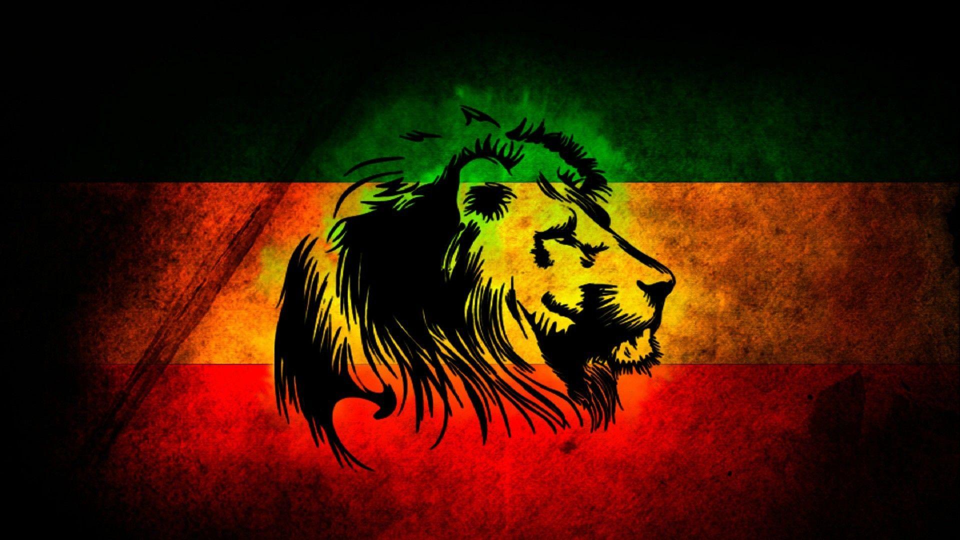 Lion Art Download Wallpaper