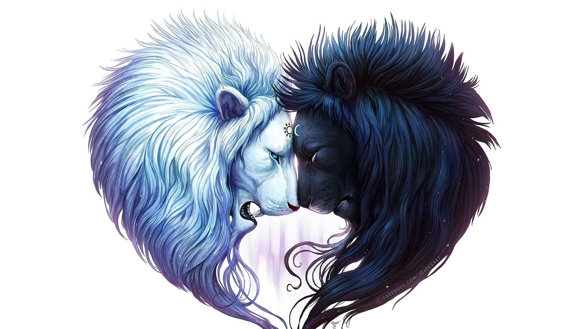 Lion Art Picture