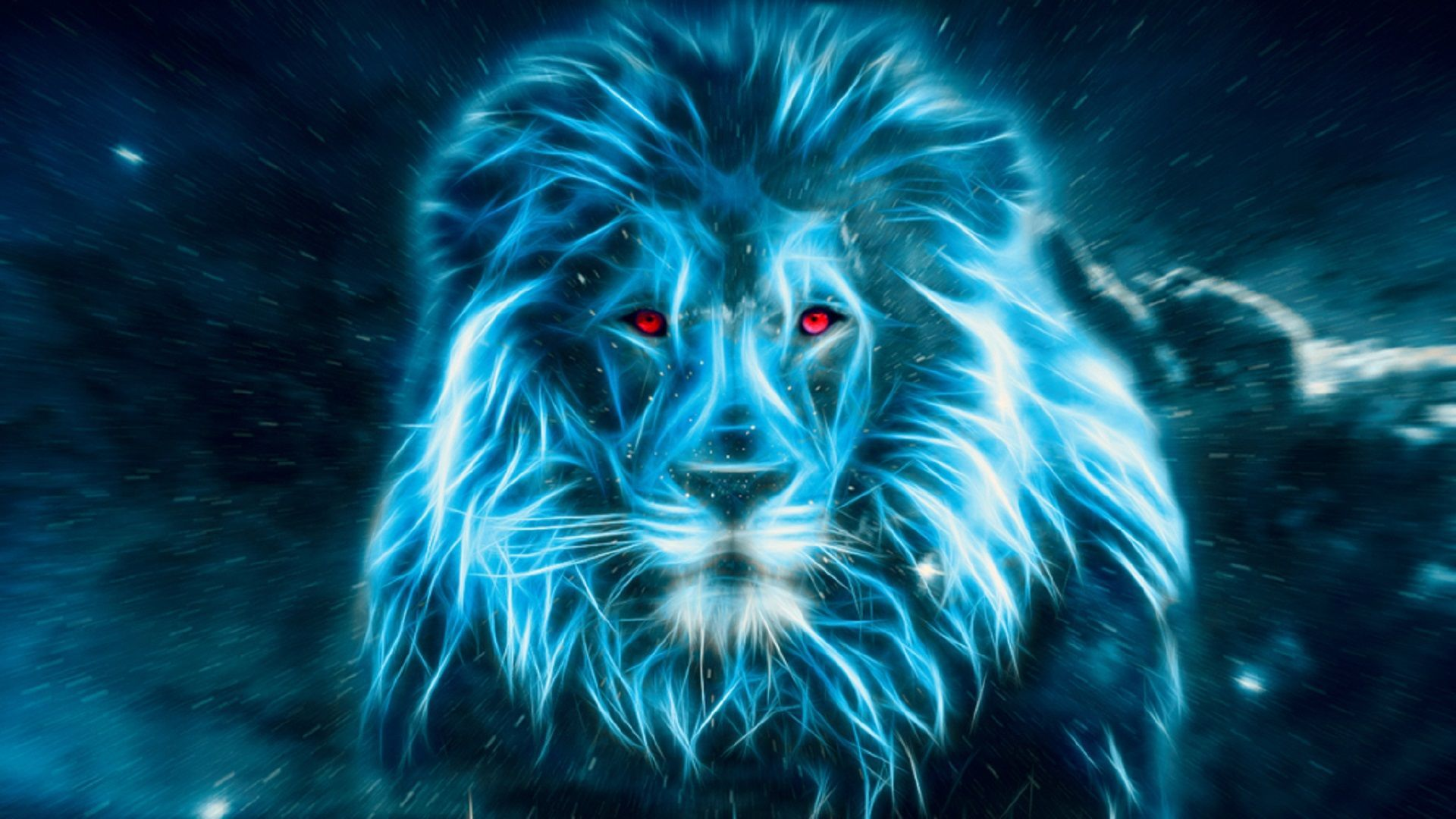 lion art 027