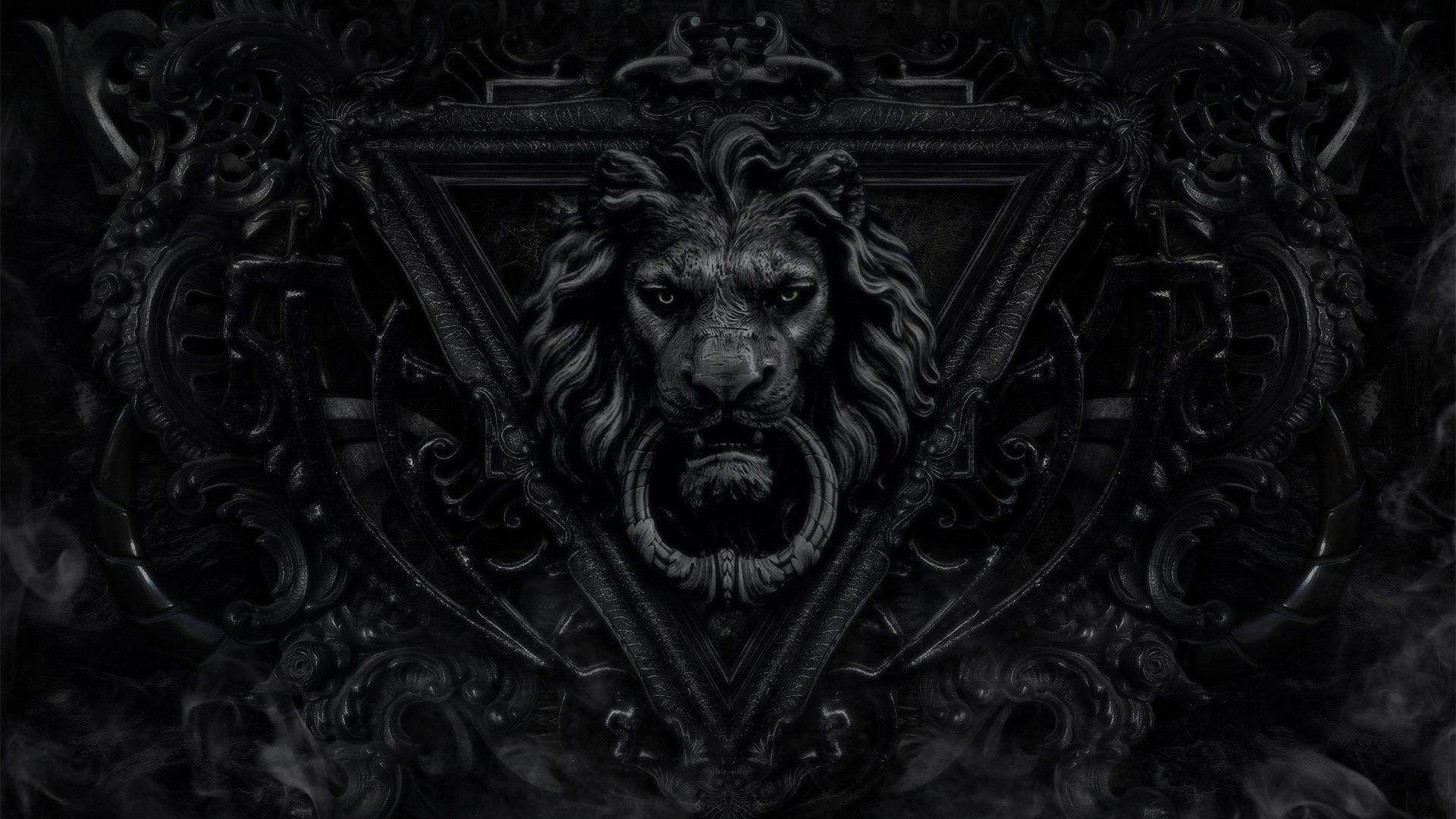 Lion Art hd wallpaper 1080
