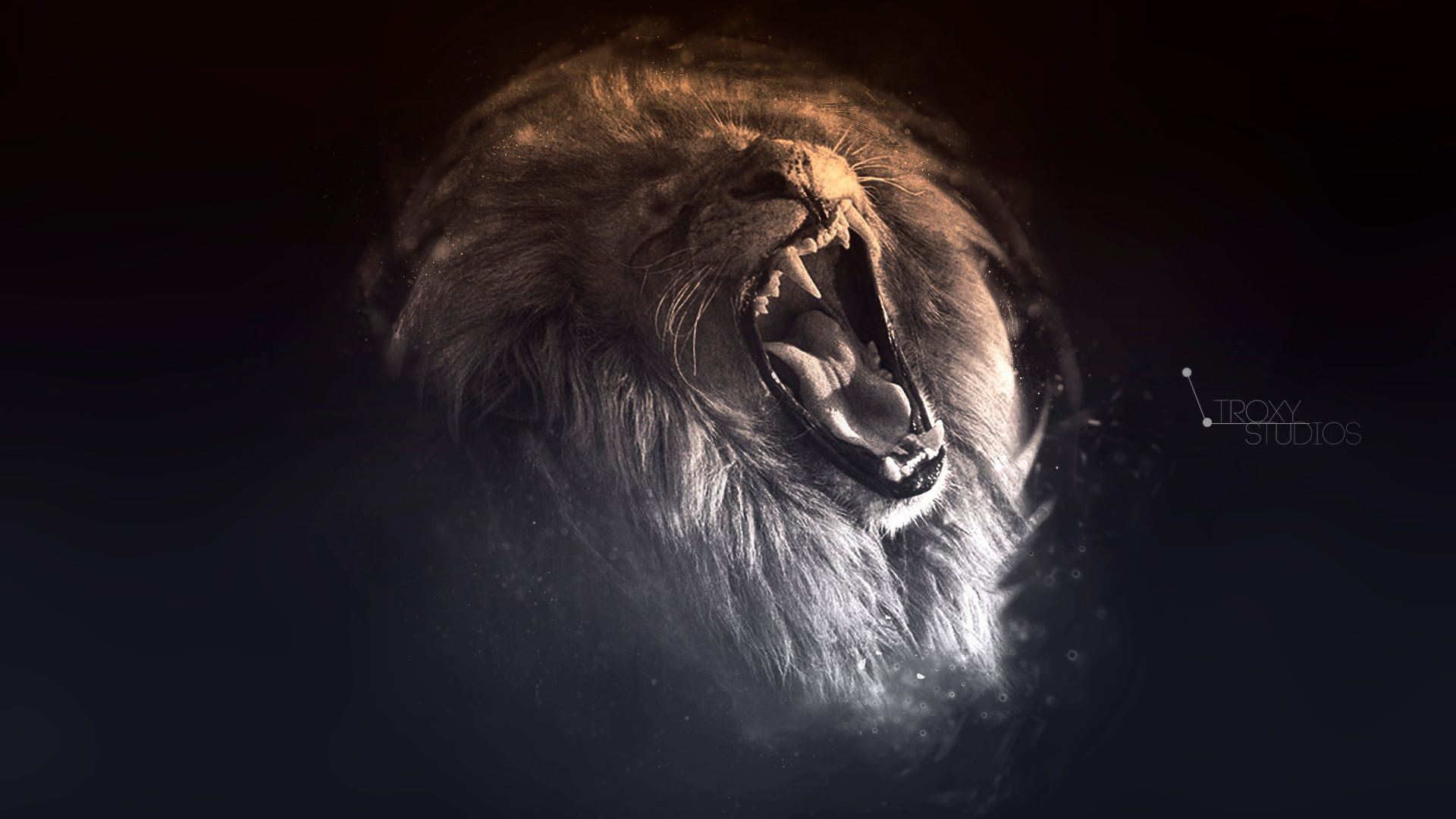 Lion Art Cool Wallpaper
