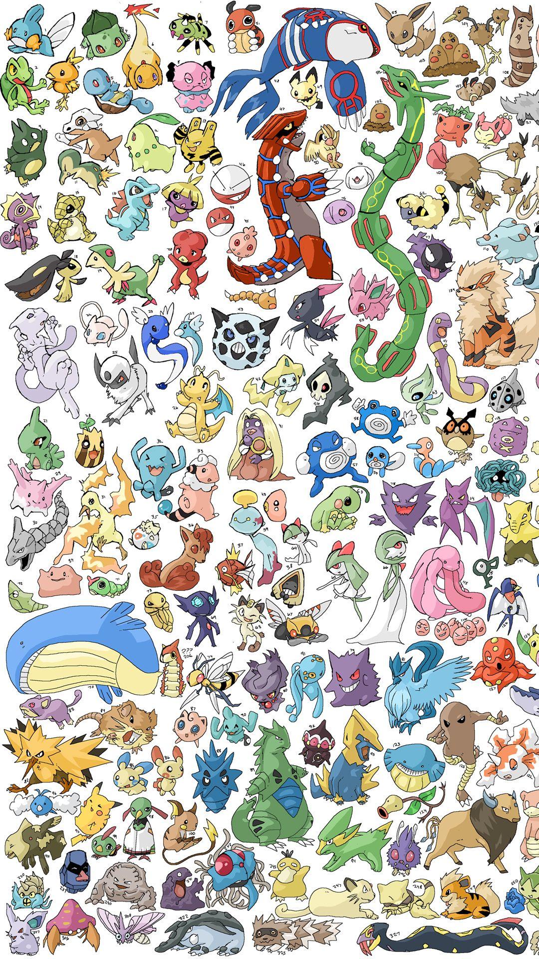 Pokemon Cool iPhone 8 wallpaper