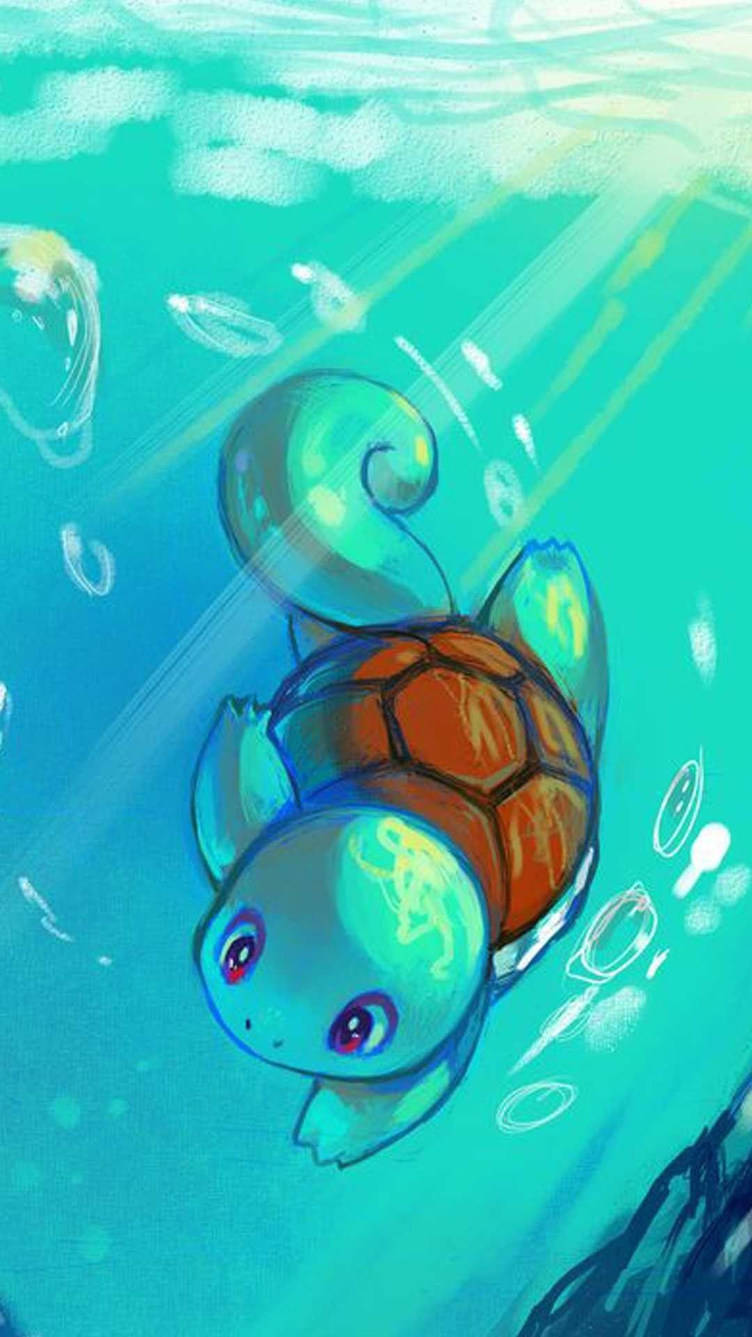 Pokemon Cool iPhone lock screen wallpaper
