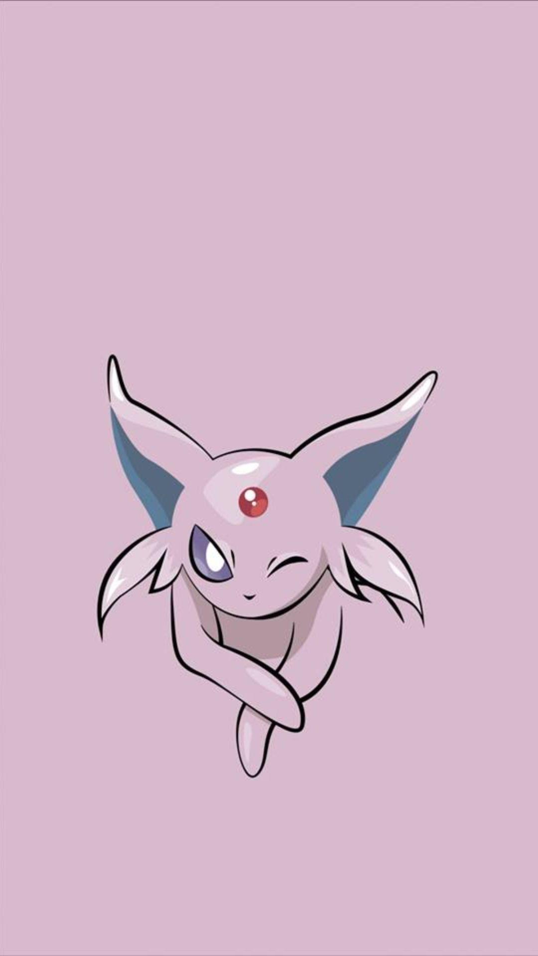 Pokemon Minimalist iOS 8 wallpaper