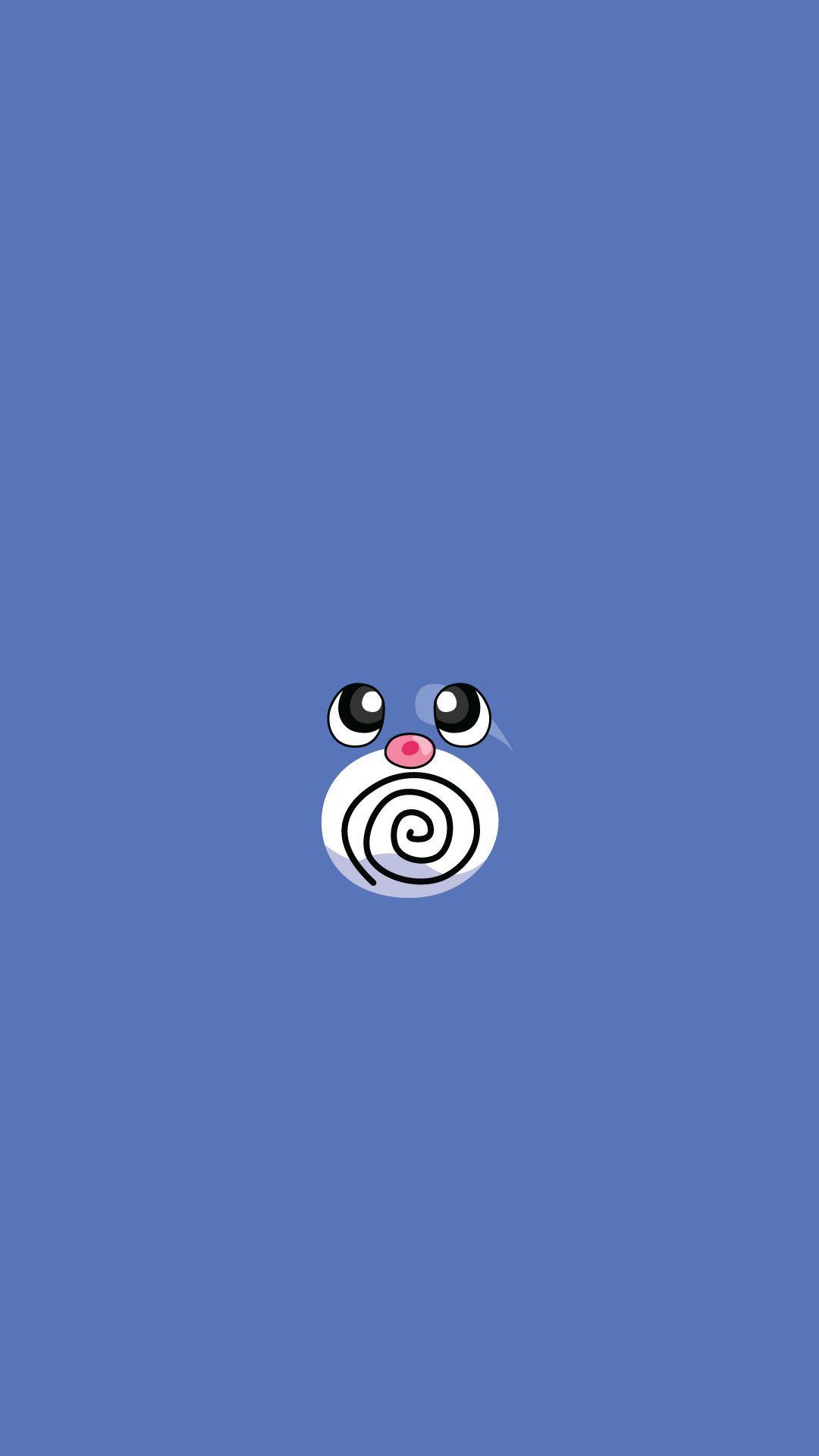 Pokemon Minimalist iOS 10 wallpaper
