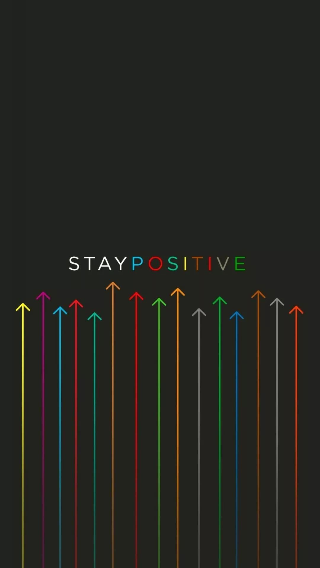 Positive Android p wallpaper