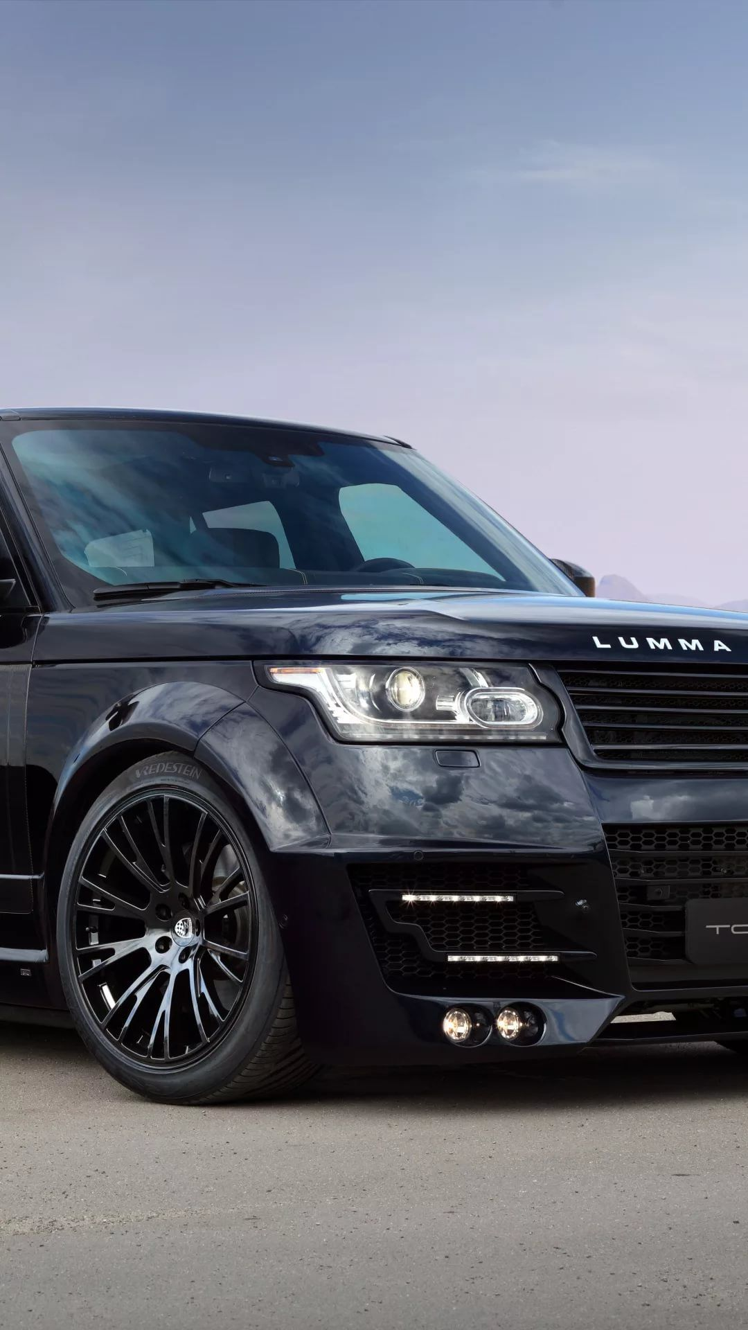 Range Rover iPhone home screen wallpaper