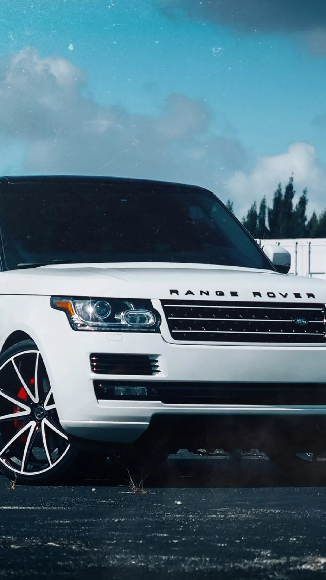 Range Rover iPhone se wallpaper