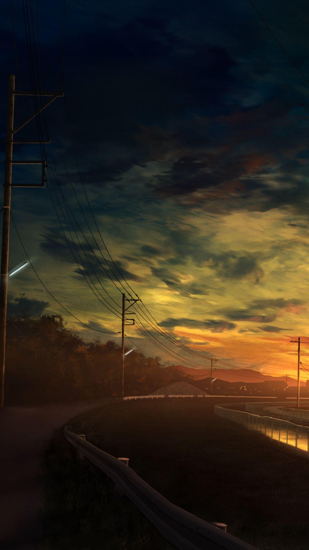 Sad Anime iPhone 6 Wallpaper