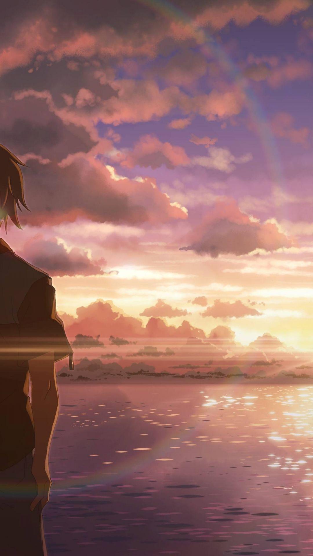 Sad Anime iPhone xs wallpaper